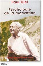 paul diel psychologie de la motivation pdf